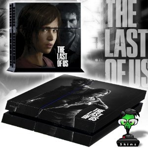 Adesivo para Console Ps4 Fat The Last Of Us Ellie
