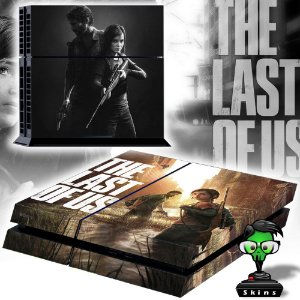 Adesivo para Console Ps4 Fat The Last Of Us