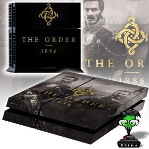 Adesivo para Console Ps4 Fat The Order