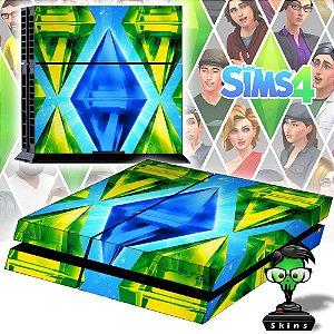 Adesivo para Console Ps4 Fat The Sims
