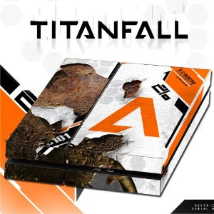 Adesivo para Console Ps4 Fat Titanfall