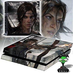 Adesivo para Console Ps4 Fat Tomb Raider Bowl