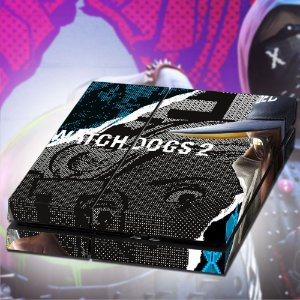 Adesivo para Console Ps4 Fat Watch Dogs 2 Ded Sec