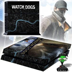 Adesivo para Console Ps4 Fat Watch Dogs 2