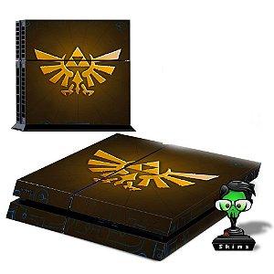 Adesivo para Console Ps4 Fat Zelda