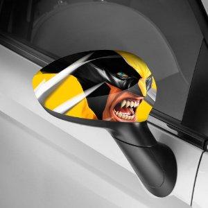 Adesivo para Envelopamento de Retrovisor Wolverine