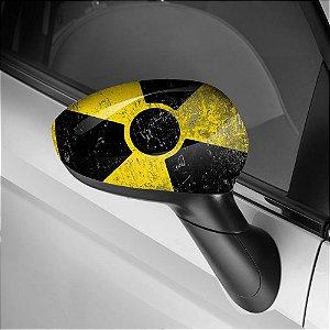 Adesivo para Envelopamento de Retrovisor Radioativo