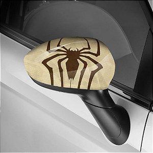 Adesivo para Envelopamento de Retrovisor Spider Man