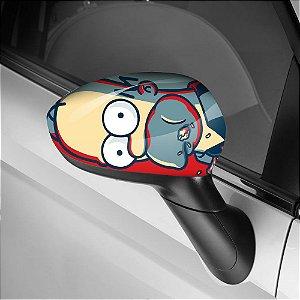 Adesivo para Envelopamento de Retrovisor The Simpsons