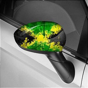 Adesivo para Envelopamento de Retrovisor Jamaica 2