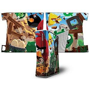 Skin Console XBOX 360 Slim Angry Birds mod 02