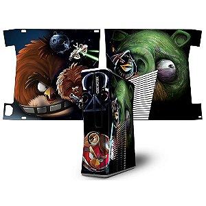 Skin Console XBOX 360 Slim Angry Birds mod 03