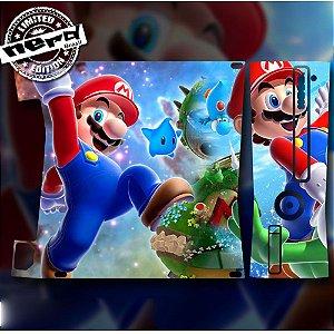 Skin Console XBOX 360 Slim Mario Bros 2