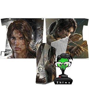 Skin Console XBOX 360 Slim Tomb Raider