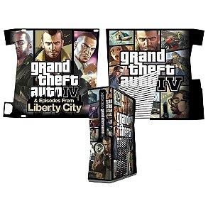 Skin Console XBOX 360 Slim Grand Theft Auto 4