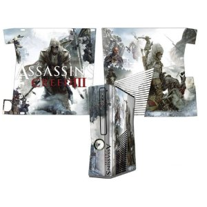 Skin Console XBOX 360 Slim Assassins Creed 3 Mod 1