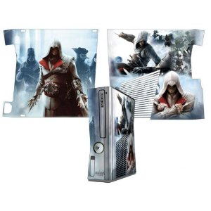 Skin Console XBOX 360 Slim Assassins Creed Mod 1
