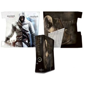 Skin Console XBOX 360 Slim Assassins Creed 2 Mod 1