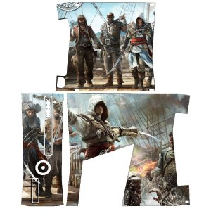 Skin Console XBOX 360 Slim Assassins Creed Mod 01