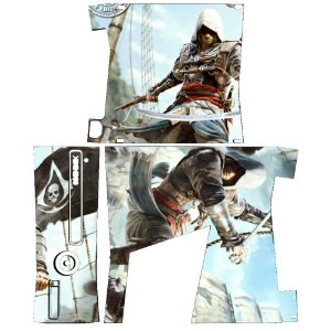 Skin Console XBOX 360 Slim Assassins Creed Mod 02