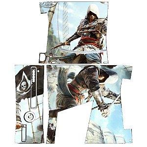 Skin Console XBOX 360 Slim Assassins Creed Mod 02