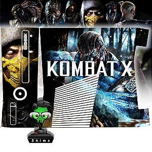 Skin Console XBOX 360 Slim Mortal Kombat X Mod 01