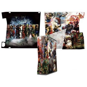 Skin Console XBOX 360 Slim Street Fighter Mod 02