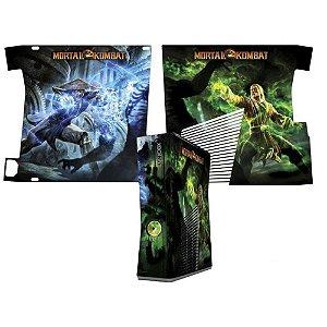 Skin Console XBOX 360 Slim Mortal Kombat X Mod 06