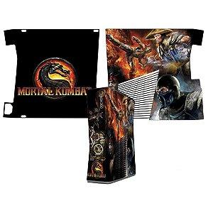 Skin Console XBOX 360 Slim Mortal Kombat Mod 01