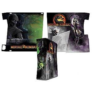 Skin Console XBOX 360 Slim Mortal Kombat Mod 03