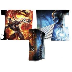 Skin Console XBOX 360 Slim Mortal Kombat Mod 04