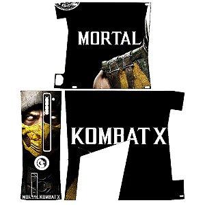 Skin Console XBOX 360 Slim Mortal Kombat X Mod 03
