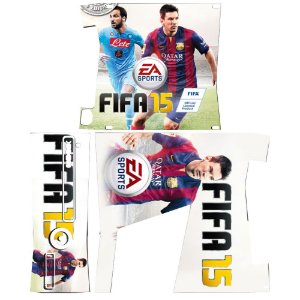 Skin Console XBOX 360 Slim FIFA 15 Mod 02
