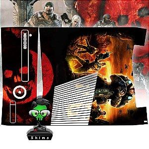 Skin Console XBOX 360 Slim Gears of Wars Mod 2