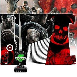 Skin Console XBOX 360 Slim Gears of Wars  Mod 1
