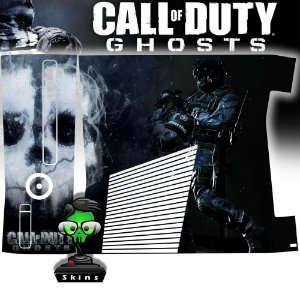 Skin Console XBOX 360 Slim Call of Duty Ghosts