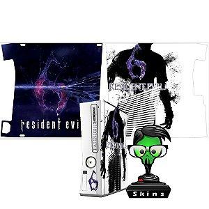 Skin Console XBOX 360 Slim Resident Evil