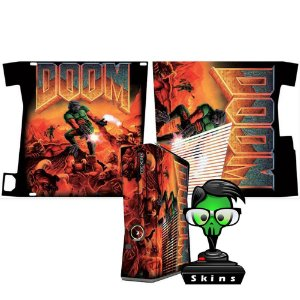 Skin Console XBOX 360 Slim Doom