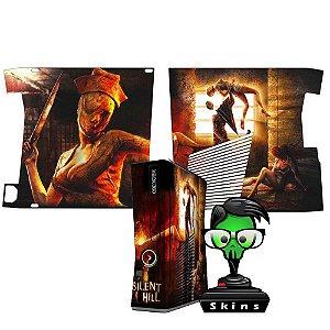 Skin Console XBOX 360 Slim Silent Hill