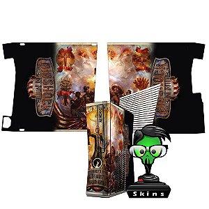Skin Console XBOX 360 Slim Bioshock Mod 01