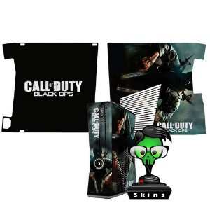 Skin Console XBOX 360 Slim Call of Duty Black Ops