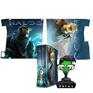 Skin Console XBOX 360 Slim Halo 3