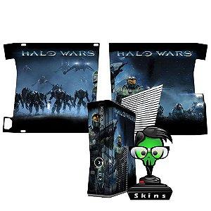 Skin Console XBOX 360 Slim Halo Wars
