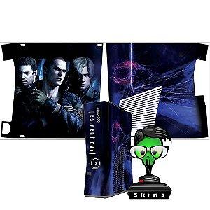 Skin Console XBOX 360 Slim Resident Evil mod 1