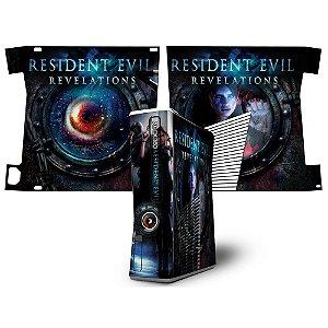 Skin Console XBOX 360 Slim Resident Evil Revelations 2