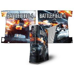 Skin Console XBOX 360 Slim Battlefield 4