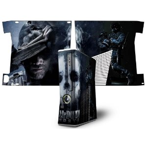 Skin Console XBOX 360 Slim Call of Duty Ghosts mod 3