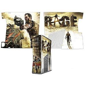 Skin Console XBOX 360 Slim Rage