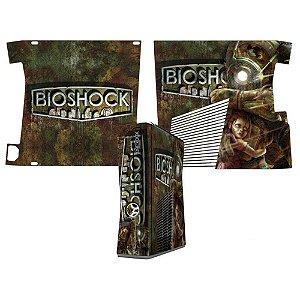 Skin Console XBOX 360 Slim Bioshock Mod 02