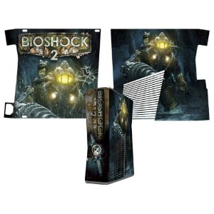 Skin Console XBOX 360 Slim Bioshock 3